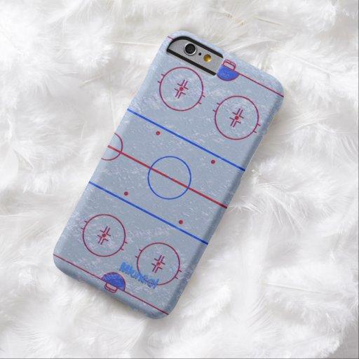 Hockey Ice Rink iPhone 6 case