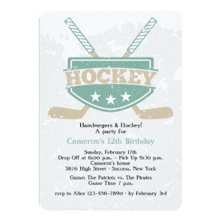 Hockey Invitation