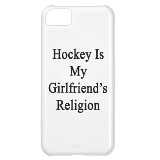Hockey Is My Girlfriend's Religion Cover For iPhone 5C