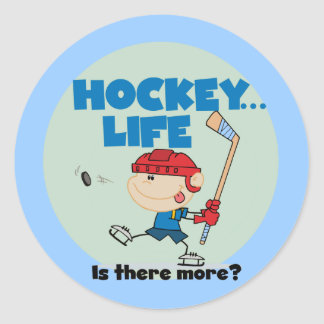 Hockey is There More T-shirts and Gifts Sticker