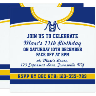 Hockey invitations announcements zazzle ca hockey jersey themed party invites template stopboris Image collections