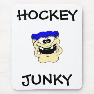 HOCKEY  JUNKY MOUSE PAD