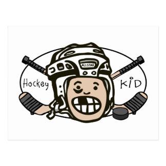 Hockey Kid Postcard