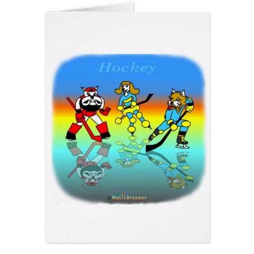 Hockey kids card