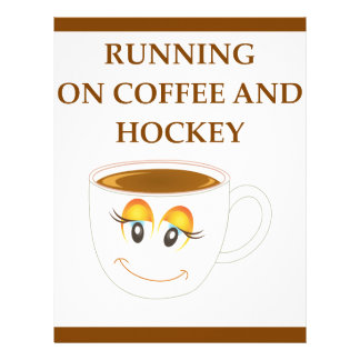 HOCKEY LETTERHEAD