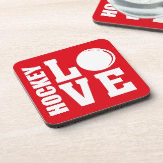 Hockey Love Coaster
