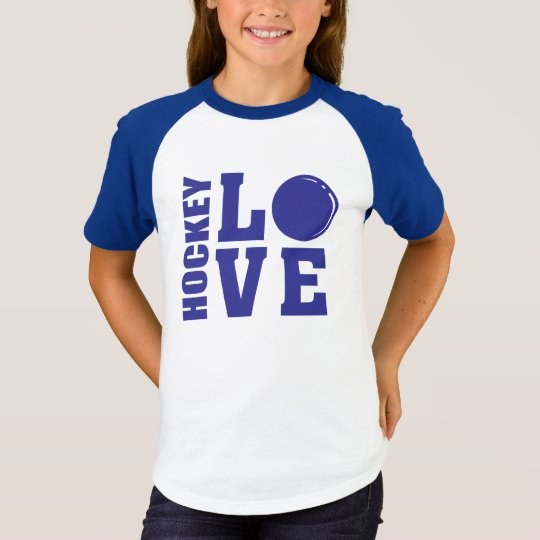 Hockey Love Field Hockey T-Shirt