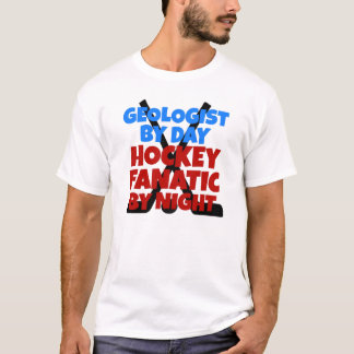Hockey Lover Geologist T-Shirt