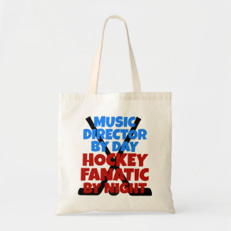 Hockey Lover Music Director Tote Bag