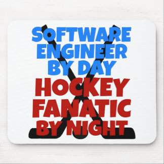 Hockey Lover Software Engineer Mouse Pad