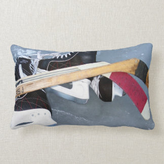 Hockey Lumbar Pillow