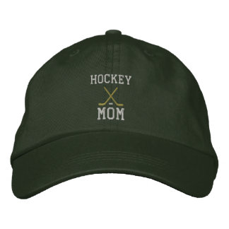 Hockey Mom Embroidered Hat