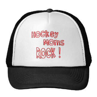 Hockey Moms Rock ! (red) Trucker Hat