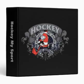 Hockey My Sport 3 Ring Binder