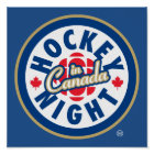 Hockey Night in Canada logo Poster