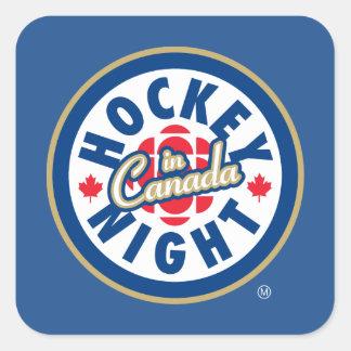 Hockey Night in Canada logo Square Sticker