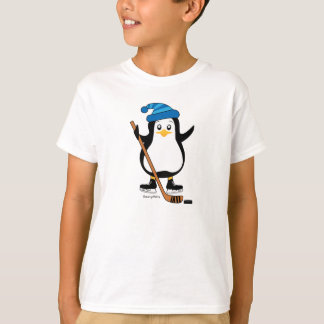 Hockey Penguin Kids Hockey Shirt