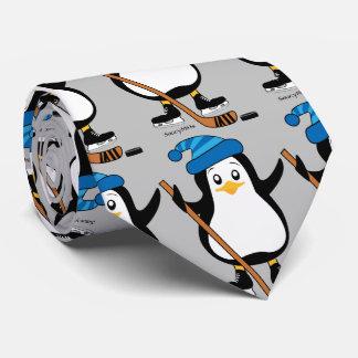 Hockey Penguin Tie