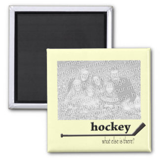 Hockey Photo Magnet