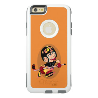 HOCKEY PLAYER CARTOON Apple iPhone 6 Plus  CS W