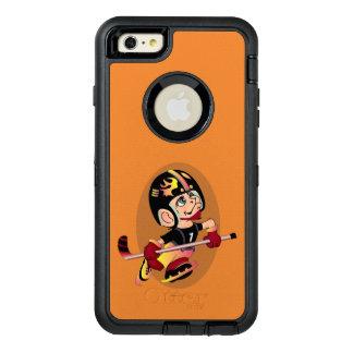 HOCKEY PLAYER CARTOON Apple iPhone 6 Plus  DF OtterBox iPhone 6/6s Plus Case