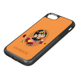 HOCKEY PLAYER CARTOON Apple iPhone 7    SS
