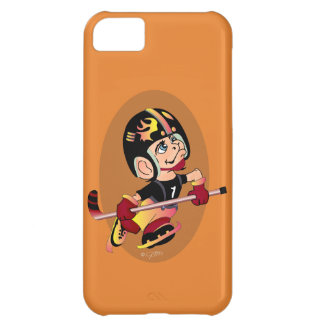 HOCKEY PLAYER CARTOON iPhone 5C  BT Case For iPhone 5C