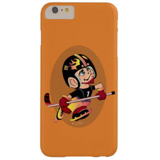 HOCKEY PLAYER CARTOON iPhone 6/6s Plus  BT Barely There iPhone 6 Plus Case