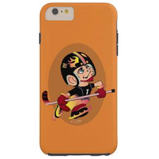 HOCKEY PLAYER CARTOON iPhone 6/6s Plus  T Tough iPhone 6 Plus Case
