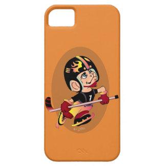 HOCKEY PLAYER CARTOON iPhone SE + iPhone 5/5S  BT iPhone 5 Case