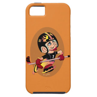 HOCKEY PLAYER CARTOON iPhone SE + iPhone 5/5S  T iPhone 5 Cover