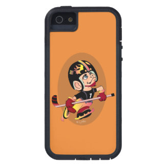 HOCKEY PLAYER CARTOON iPhone SE + iPhone 5/5S  TX iPhone 5 Cases