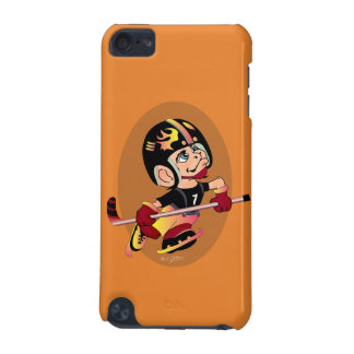 HOCKEY PLAYER CARTOON iPod Touch 5g iPod Touch 5G Case