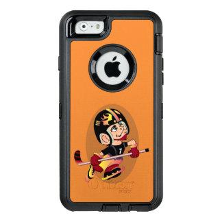HOCKEY PLAYER CARTOON OtterBoxSymmetry iPhone 6/6D