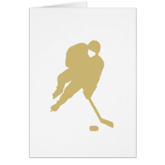 hockey player gold card