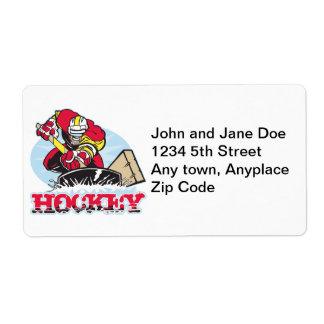 Hockey Player Labels