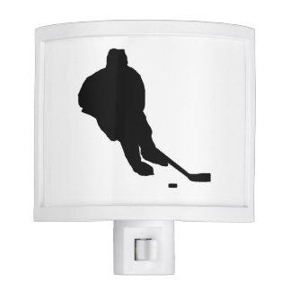 """""""Hockey Player"""" Night Light"""