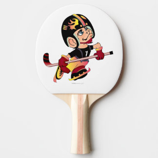 HOCKEY PLAYER Ping Pong Paddle, Full Print Back Ping Pong Paddle