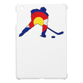 Hockey Player With Colorado Pride iPad Mini Covers