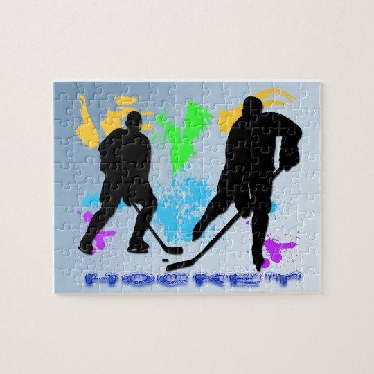 Hockey Players Puzzle