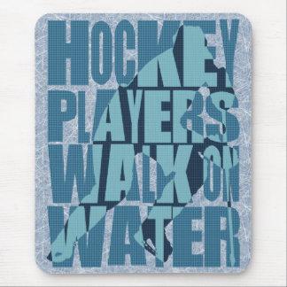 Hockey Players Walk On Water Mousepad