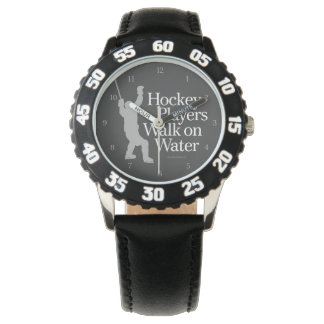 Hockey Players Walk On Water Wristwatches