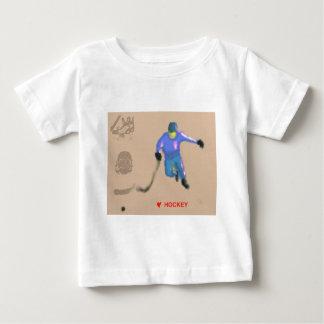 Hockey Playoff Art Baby T-Shirt