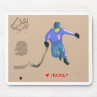 Hockey Playoff Art Mouse Pad