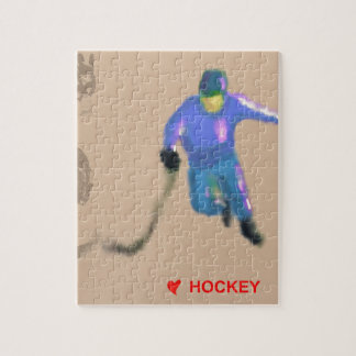 Hockey Playoff Art Puzzle