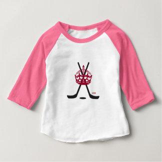 Hockey Princess Baby Pink Infant T Shirt