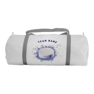 Hockey Puck, Ice Hockey Duffle Bag
