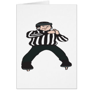 Hockey Referee Card