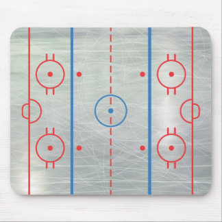 Hockey Rink Ice Mousepad
