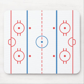 Hockey Rink Mousepad